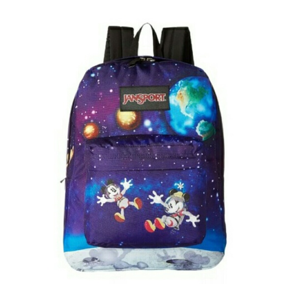 a160184e76e JANSPORT DISNEY Mickey Minnie Space Walk Backpack